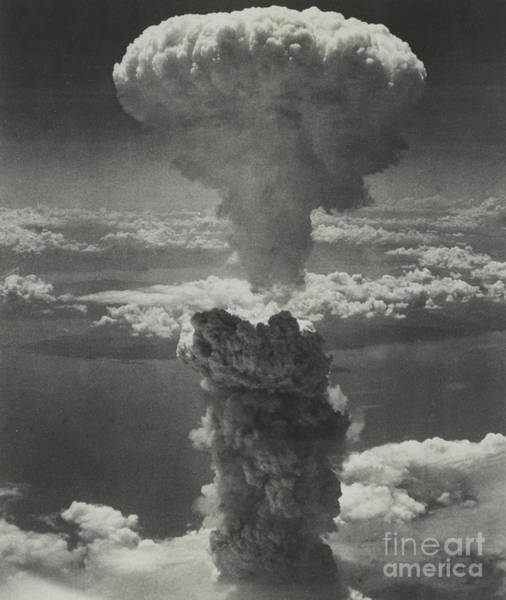 Wall Art - Photograph - Mushroom Cloud From Atomic Bomb by American School