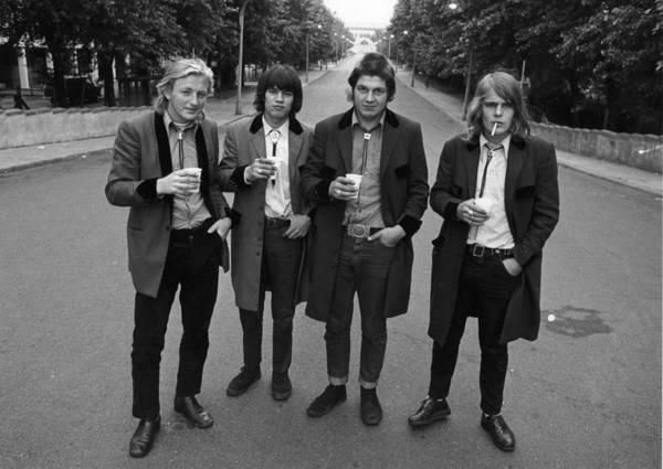 1972 Photograph - Music Fans by Evening Standard