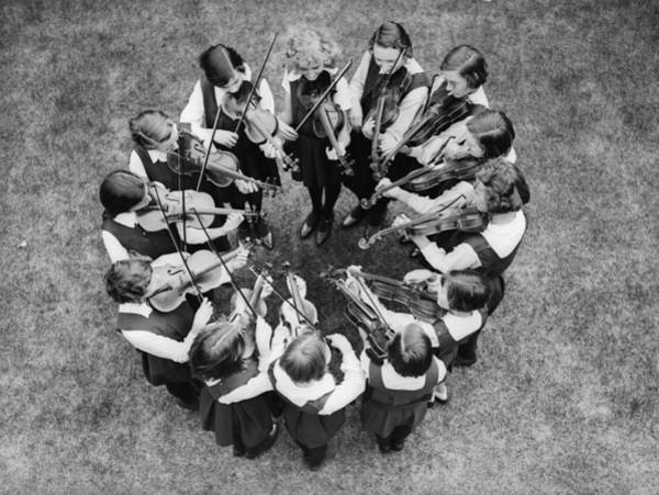 Learning Photograph - Musical Circle by Reg Speller