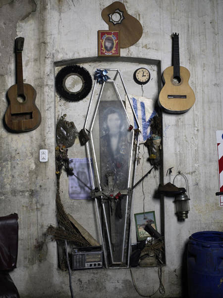 Home Interior Photograph - Musical Shrine Inside A Room by Win-initiative/neleman