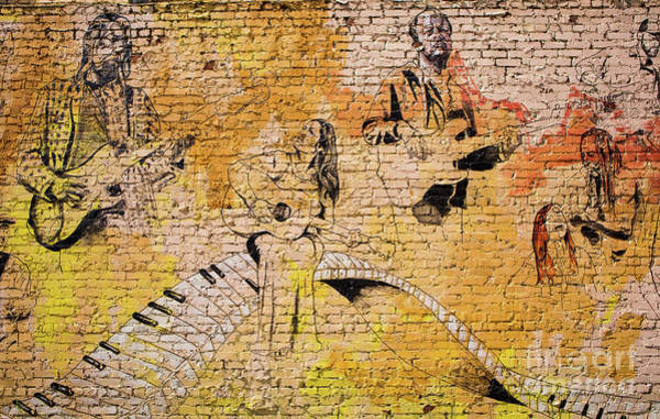 Photograph - Musical Wall Mural by Kevin McCarthy