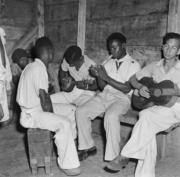 Jamaica Photograph - Musicians In Jamaica by Michael Ochs Archives