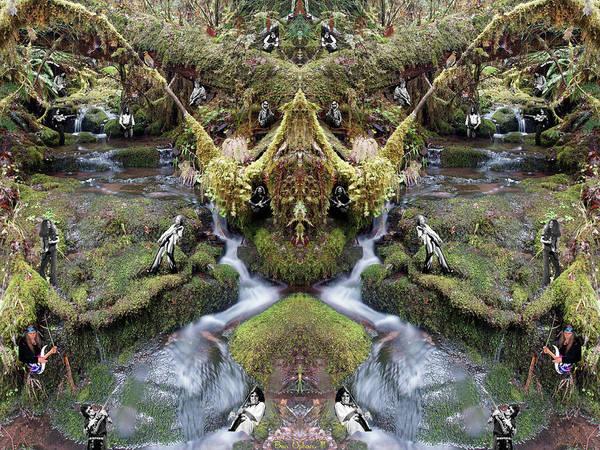 Wall Art - Photograph - Musicreek #1 Mirrored by Ben Upham