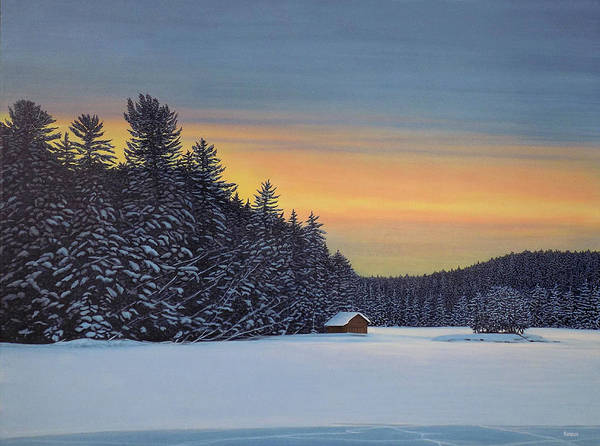 Muskoka Winter Art Print