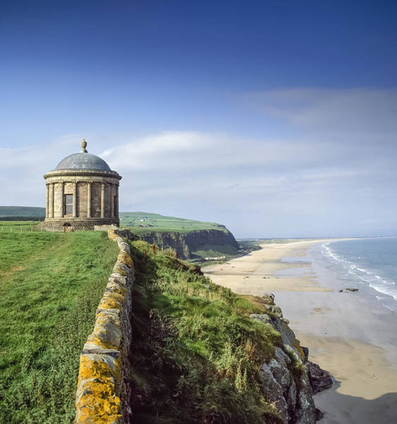 Wall Art - Photograph - Mussenden Temple,co Derry,northern by The Irish Image Collection