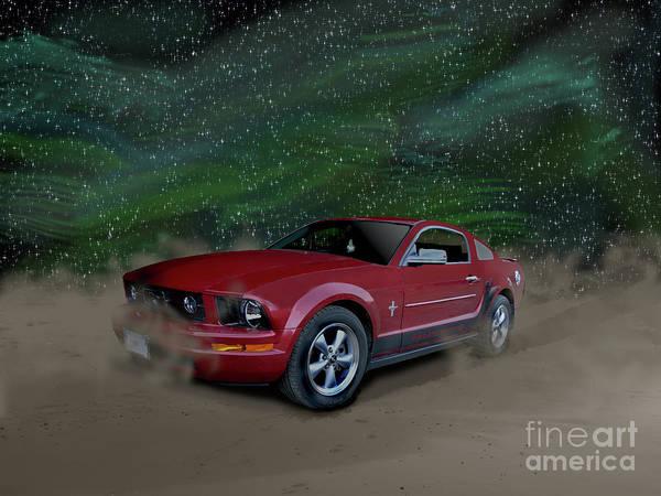 Photograph - Mustang Alley by Vivian Martin
