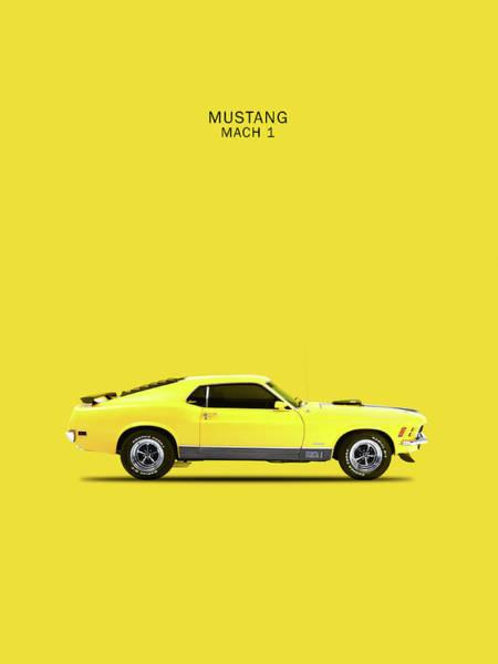 Mustangs Photograph - Mustang Mach 1 by Mark Rogan