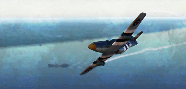 Painting - Mustang P51d - 18 by Andrea Mazzocchetti