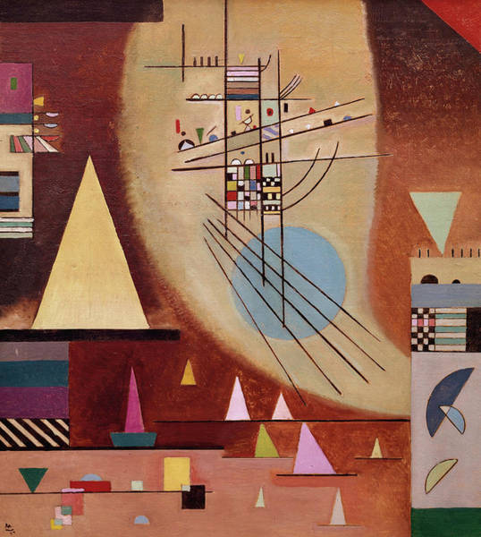 Wall Art - Painting - Mute, 1924 by Wassily Kandinsky
