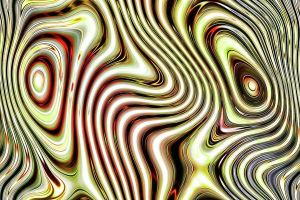 Digital Art - Muted Eyes Of Chaos by Don Northup