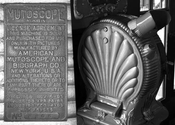 Wall Art - Photograph - Mutoscope Fine Art Dual Image by David Lee Thompson