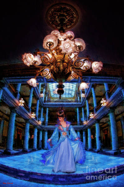 Photograph - My Blue Dress In My Blue Palace by Blake Richards
