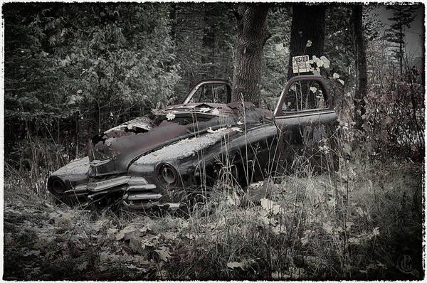 Digital Art - My Car 2 by Patrick Groleau