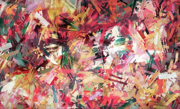 Wall Art - Digital Art - My Dancing Brush Strokes by Grace Iradian