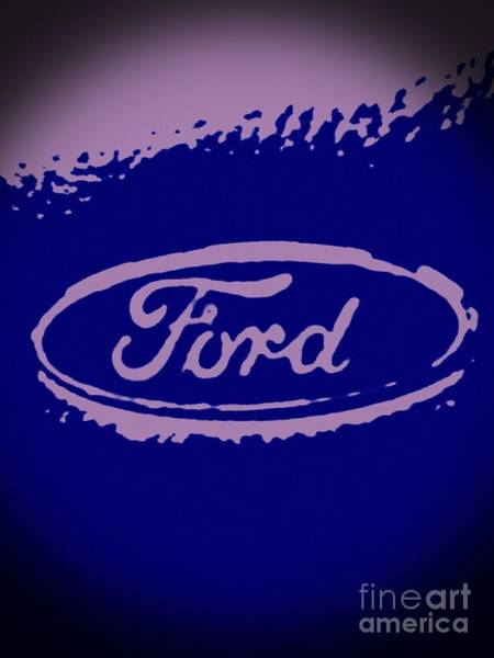 Painting - My Ford Vignette by Catherine Lott