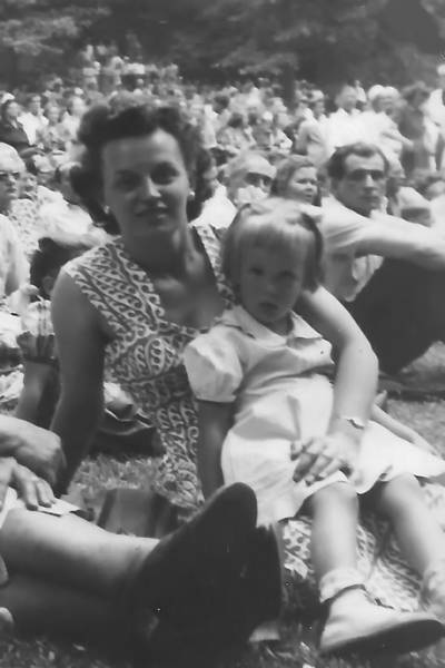 Photograph - My Gorgeous Mom And Me by Barbara Keith