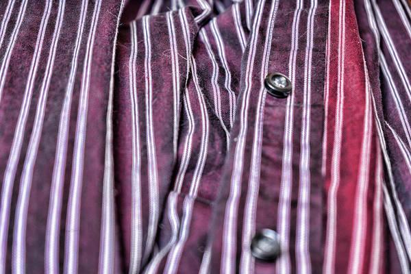 Photograph - My Husbands Shirt by Sharon Popek