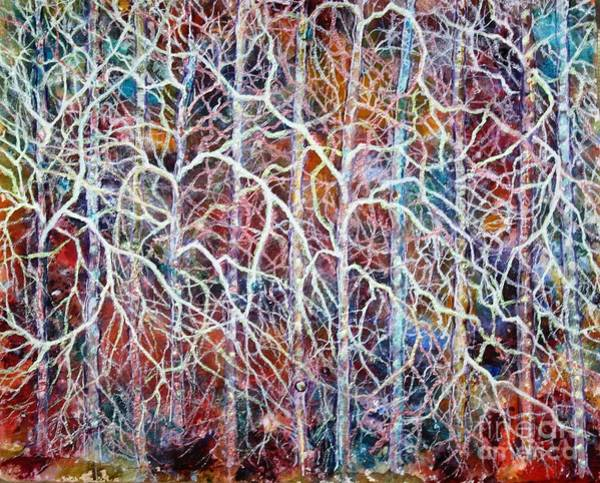Entangled Painting - My Life As A Branch Or 2 Or 3 by Misha Ambrosia