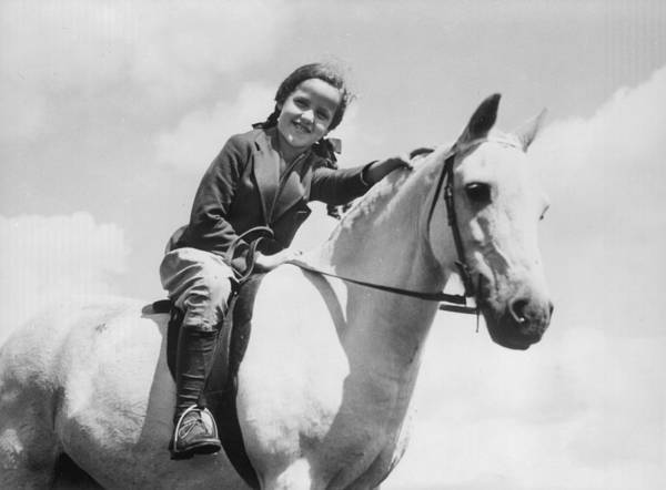 Girl And Horse Photograph - My Little Pony by Chaloner Woods