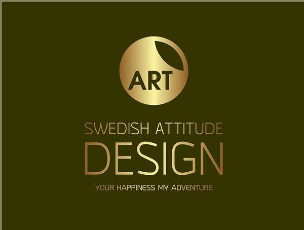 Digital Art - My Logo by Swedish Attitude Design
