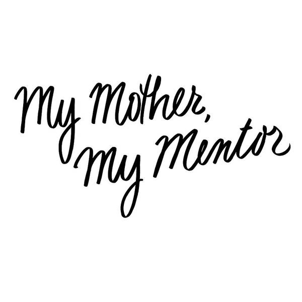 Wall Art - Digital Art - My Mother, My Mentor by Sd Graphics Studio