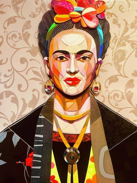 Kahlo Photograph - My Name Is Frida by Funkpix Photo Hunter