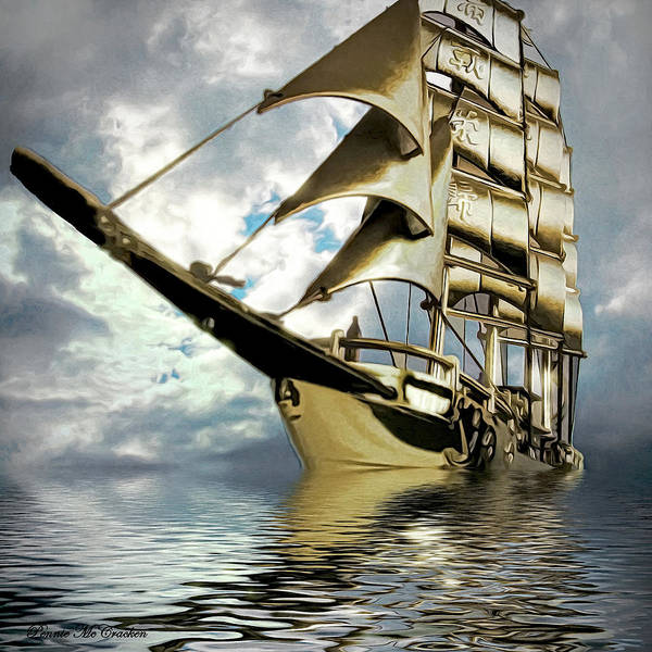 Digital Art - My Ship Comes In by Pennie McCracken