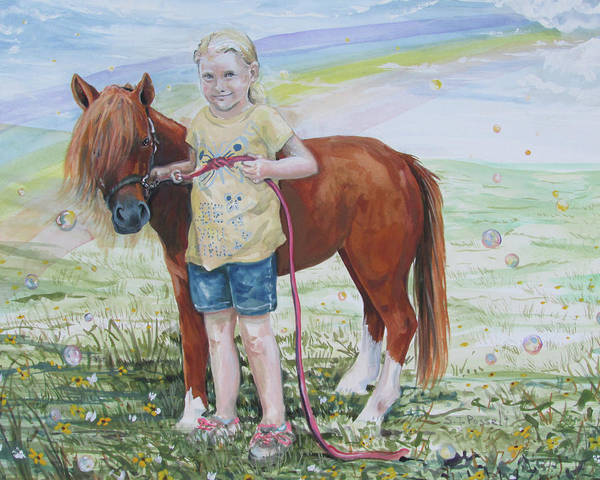 Painting - My Time With Ginger by Sheri Jo Posselt