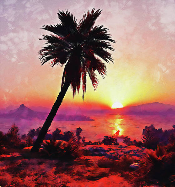 Painting - My Tropical Heaven - 02 by Andrea Mazzocchetti