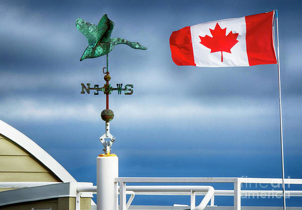 Wall Art - Photograph - My True North Strong And Free by Bob Christopher
