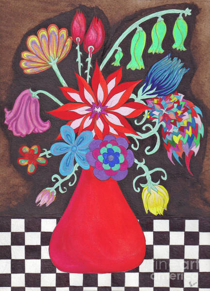 Become One Wall Art - Painting - My Vase by ArtSick Productions