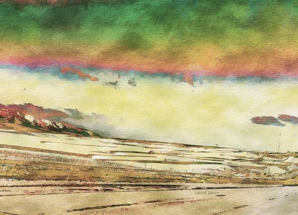 Open Space Mixed Media - My Wyoming by Lenore Senior