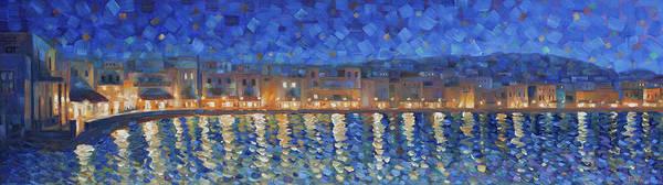 Painting - Mykonos Lights by Rob Buntin