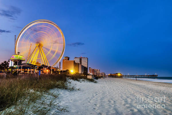 South Atlantic Wall Art - Photograph - Myrtle Beach, South Carolina, Usa City by Rob Hainer