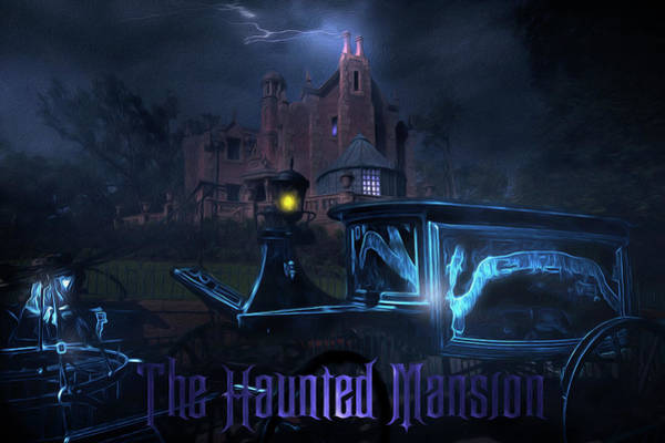 Wall Art - Photograph - Mysteries Of The Haunted Mansion by Mark Andrew Thomas