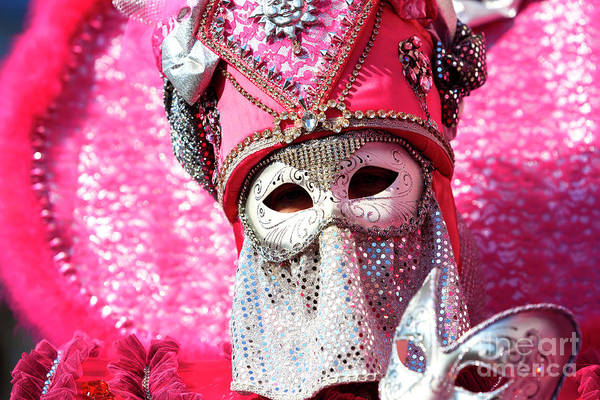 Photograph - Mysteries Of Venice Carnival by John Rizzuto