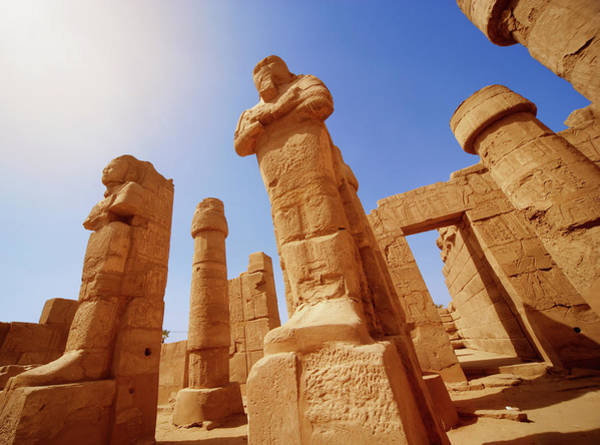 Art And Craft Photograph - Mysterious Ancient Temple Ruins In Egypt by Fds111