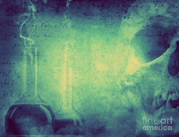 Wall Art - Photograph - Mystery And Alchemy Background. Retro by Triff