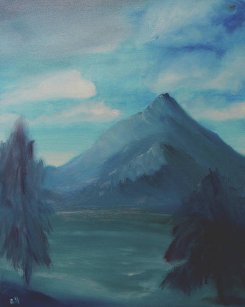 Painting - Mystery Mountain by Chance Kafka