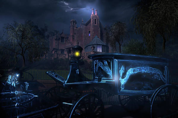 Wall Art - Photograph - Mystery Of The Haunted Mansion by Mark Andrew Thomas