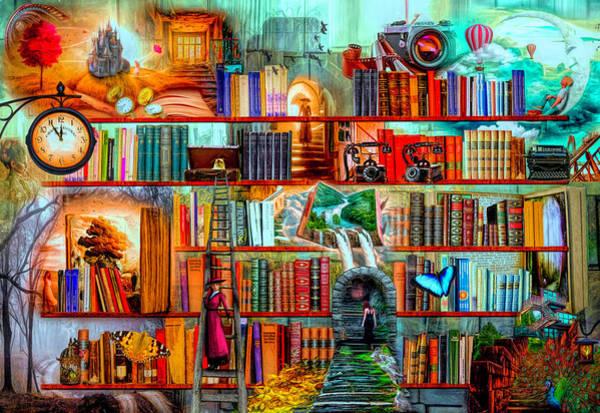 Digital Art - Mystery Writers by Debra and Dave Vanderlaan