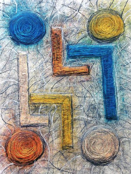 Drawing - Mystery Zone by Luke Mitchell