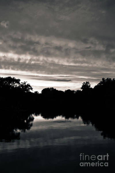 Wall Art - Photograph - Mystic Island Silhouette by Colleen Kammerer