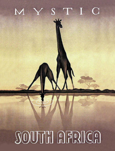 Mystic Digital Art - Mystic South Africa by Long Shot
