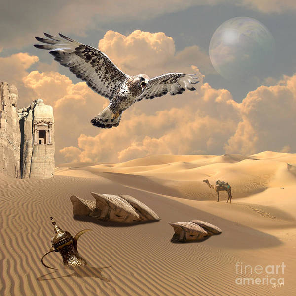 Digital Art - Mystica Of Desert by Alexa Szlavics