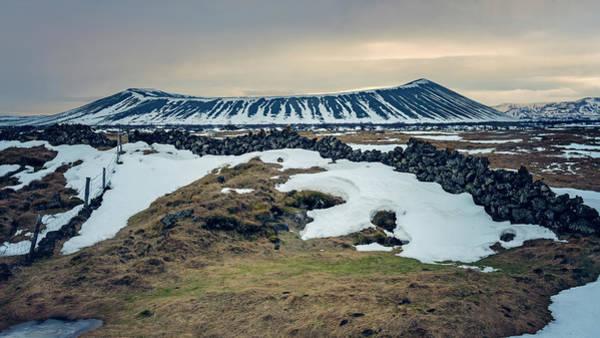 Photograph - Myvatn Volcano Iceland by Joan Carroll