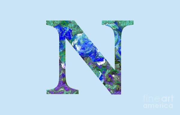 Digital Art - N 2019 Collection by Corinne Carroll