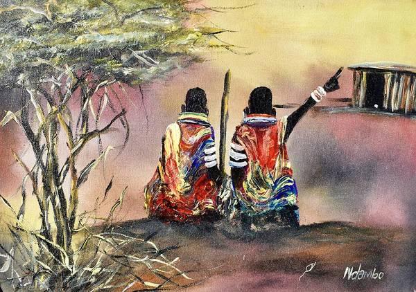 Painting - N-203 by John Ndambo