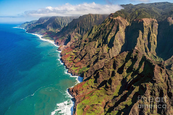Travel Destinations Wall Art - Photograph - Na Pali Coast, Kauai, Hawaii by Pierre Leclerc