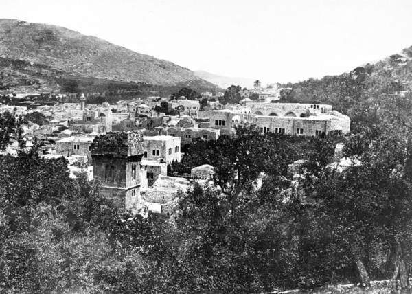 Wall Art - Photograph - Nablus 1857 by Munir Alawi
